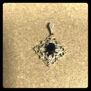 Jewelry - Sapphire pendant